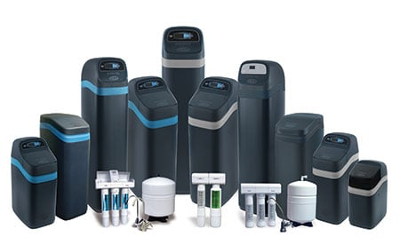 Group of Our EcoWater Products Available